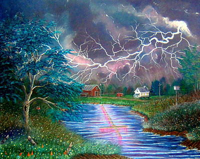 Praise In The Storm Art Print