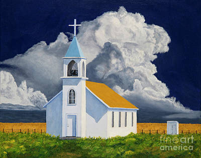 Praise The Lord Painting - Praise The Lord South Dakota by Garry McMichael