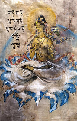 Prajnaparamita  Art Print by Silk Alchemy