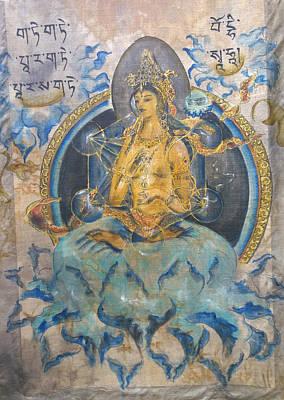 Prajnaparamita With Metatron's Cube Original