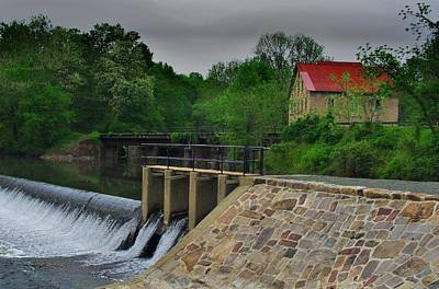 Photograph - Prallsville Mill by Val Arie
