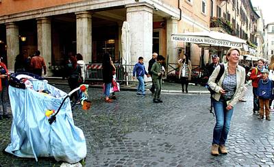 Photograph - Prank In Rome by Janice Aponte