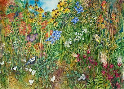 Painting - Prarie IIi by Helen Klebesadel