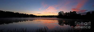 Jft Photograph - Prat Pond Morning by James F Towne