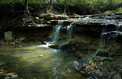 Photograph - Prather Creek Waterfall by Fred Lassmann