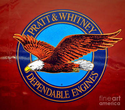 Pratt And Whitney Art Print by Olivier Le Queinec
