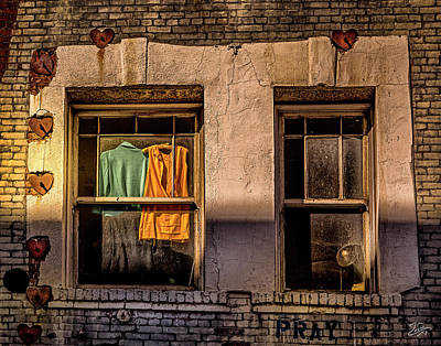 Photograph - Pray by Endre Balogh