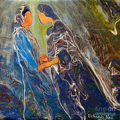Painting - Pray For One Another by Deborah Nell