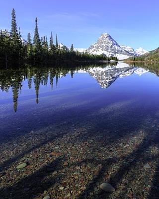 Photograph - Pray Lake Beauty by Jack Bell