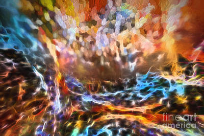 Digital Art - Pray Paint Praise by Margie Chapman