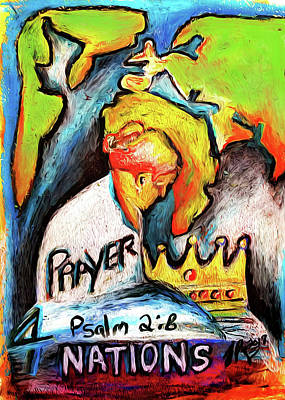 Pastel - Prayer 4 Nations by Jennifer Page