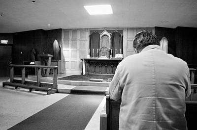 Photograph - Prayer Before Mass by Jeanette O'Toole