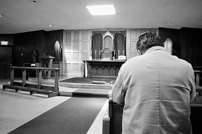 Prayer Before Mass Art Print