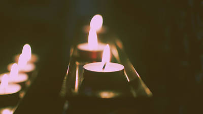 Photograph - Prayer Candles by Jacek Wojnarowski