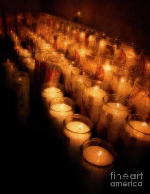 Photograph - Prayer Candles by Scott Kemper