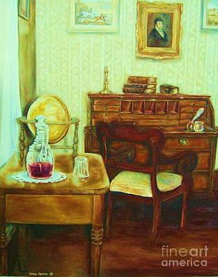 Painting - Prayer Closet by Carole Spandau