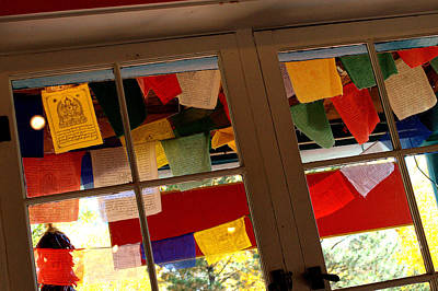 Photograph - Prayer Flags by Anjanette Douglas