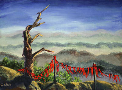 Painting - Prayer Flags by Catherine Link