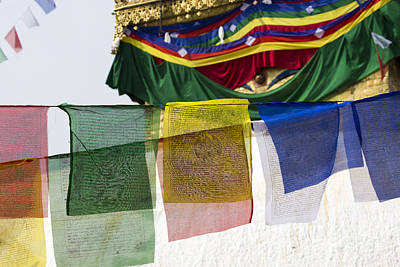 Beastie Boys - Prayer flags flying in the wind by Mariusz Prusaczyk