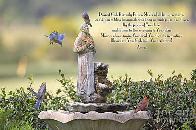 Prayer For The Animals That Bless Our Lives Art Print