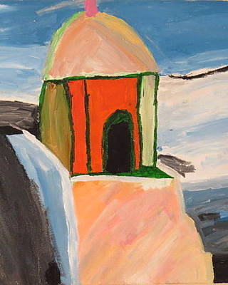 Painting - Prayer Hut by Ronald Weatherford