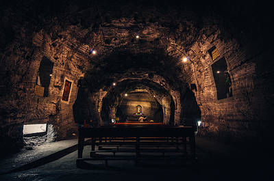 Photograph - Prayer In The Mines by Jose Vazquez