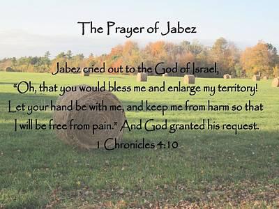Photograph - Prayer Of Jabez by Patricia Urato