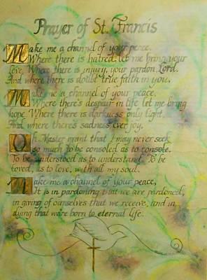 Prayer Of St. Francis Original