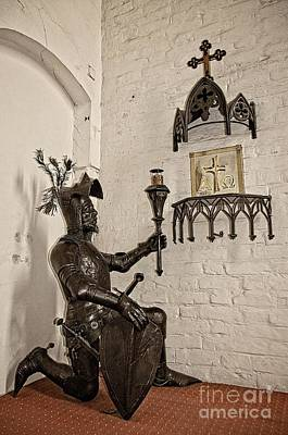 Photograph - Prayer Of The Teutonic Order Knight by Elzbieta Fazel