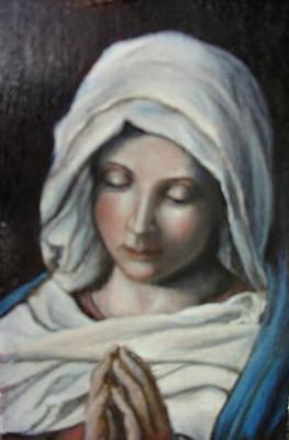 Prayer Art Print by Sorin Apostolescu