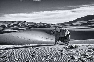 Photograph - It's Prayer Time In The Sahara by Rene Triay Photography