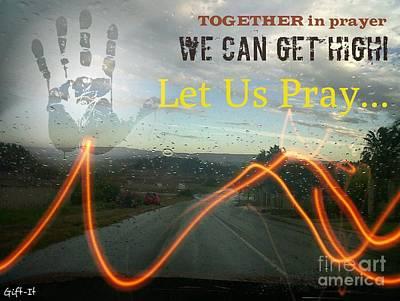 Mixed Media - Prayer To Reflection by Isaac Khonjelwayo