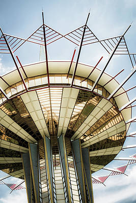 Photograph - Prayer Tower Tulsa Oklahoma - Vintage Oru by Gregory Ballos