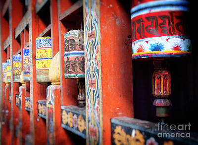 Photograph - Prayer Wheels by Scott Kemper