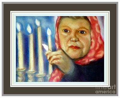 Photograph - Prayers And Candles by Shirley Moravec