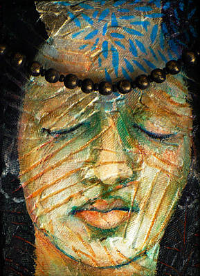 Prayers For The Ancestors Art Print by Sue Reed