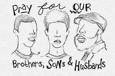 Digital Art - Prayers by The Pour Artist NJ