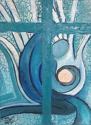 Painting - Prayers by Rami Besancon