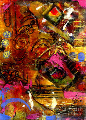 Mixed Media - Prayers That Avail Much by Angela L Walker