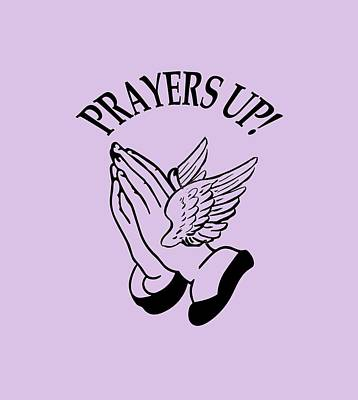 Digital Art - Prayers Up by Jeff Brunton