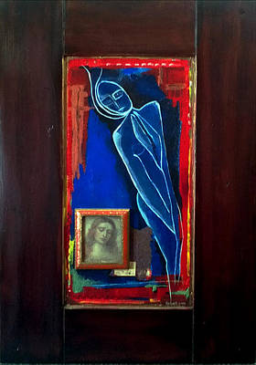 Painting - Prayers Won't Help You Now by Delight Worthyn