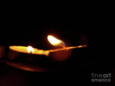 Photograph - Prayful Flames by Mary Kobet
