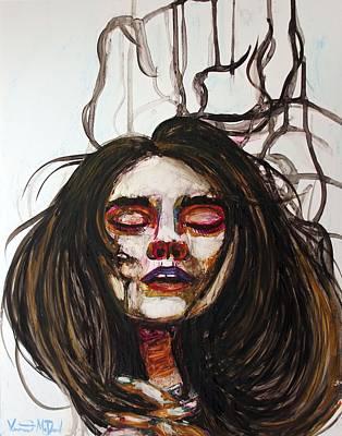 Painting - Praying For A Savior by Veronica McDonald