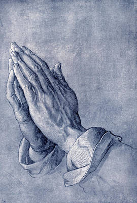 Praying Hands, Art By Durer Print by Sheila Terry
