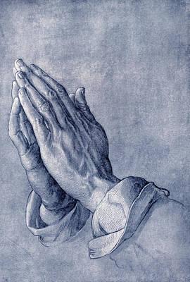 Praying Hands, Art By Durer Art Print by Sheila Terry