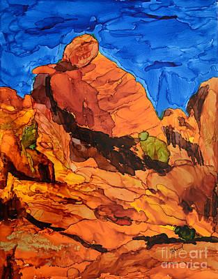 Praying Lady At Red Rock Canyon Original