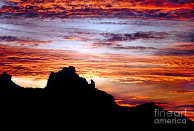 Photograph - Praying Monk, Camelback Mountain, Phoenix Arizona by Wernher Krutein