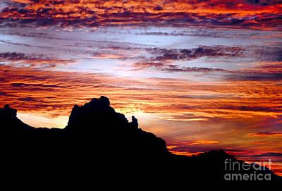 Photograph - Praying Monk, Camelback Mountain, Phoenix Arizona by Wernher Krutein