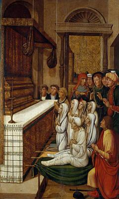 Praying Painting - Praying by Celestial Images
