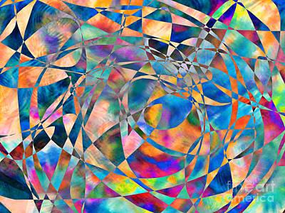 Painting - P.r.dm Harliquin by Expressionistart studio Priscilla Batzell